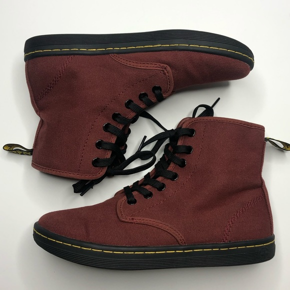 Dr Martens Shoreditch Cherry Red Boots